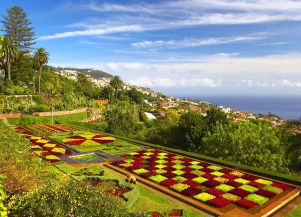 Madeira - Funchal - botanická zahrada