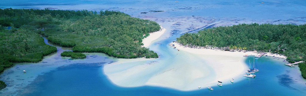 Mauricius - ostrovy Ile aux Cerfs