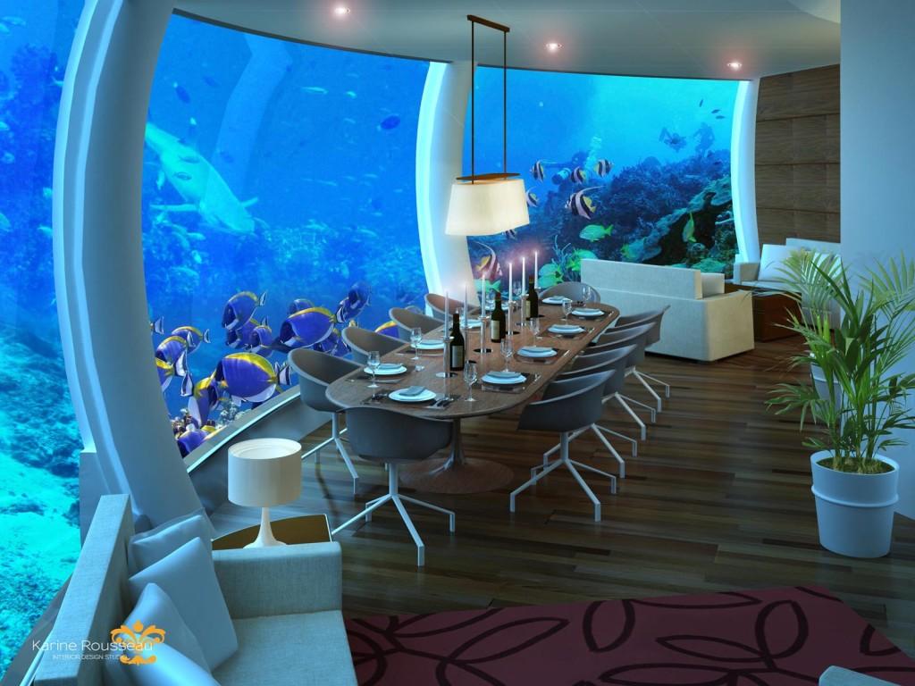 Poseidon - podmořská restaurace