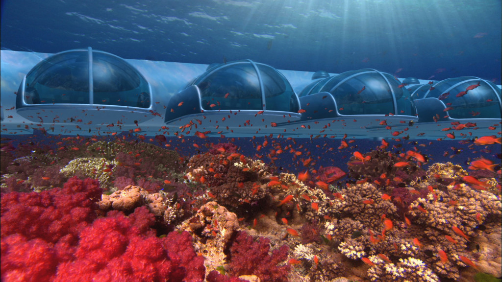 Poseidon - podmořské ložnice