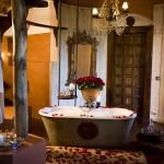 Tanzánie - Ngorongoro Crater Lodge - koupelna