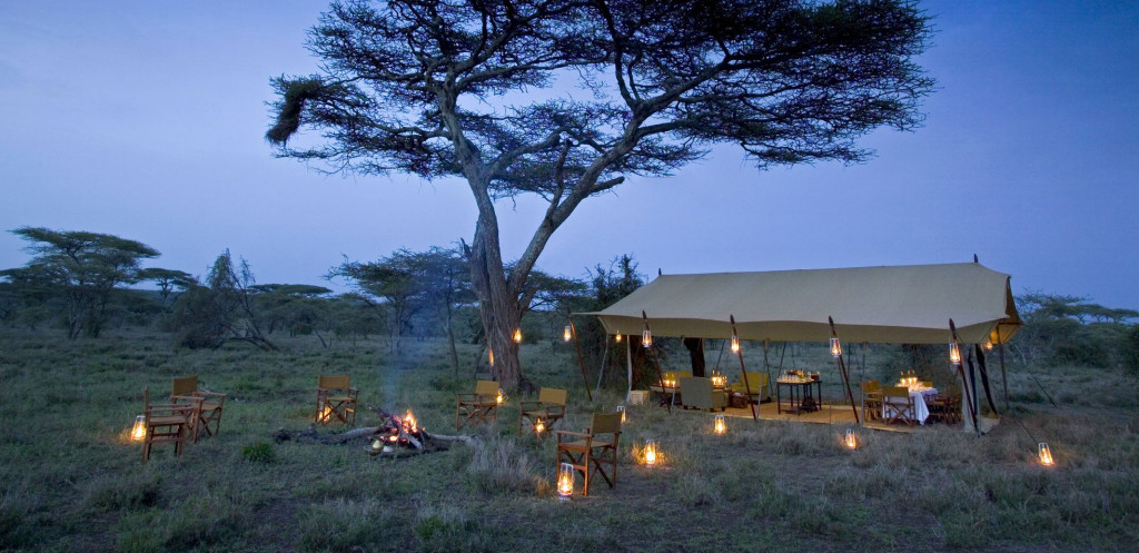 Tanzánie - Serengeti - Camp Under Canvas