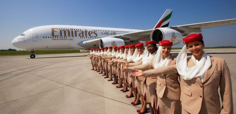 Emirates - vítejte na palubě Airbus A 380