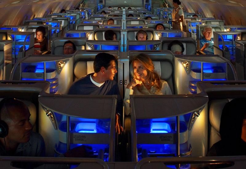 Emirates - A 380 - business class