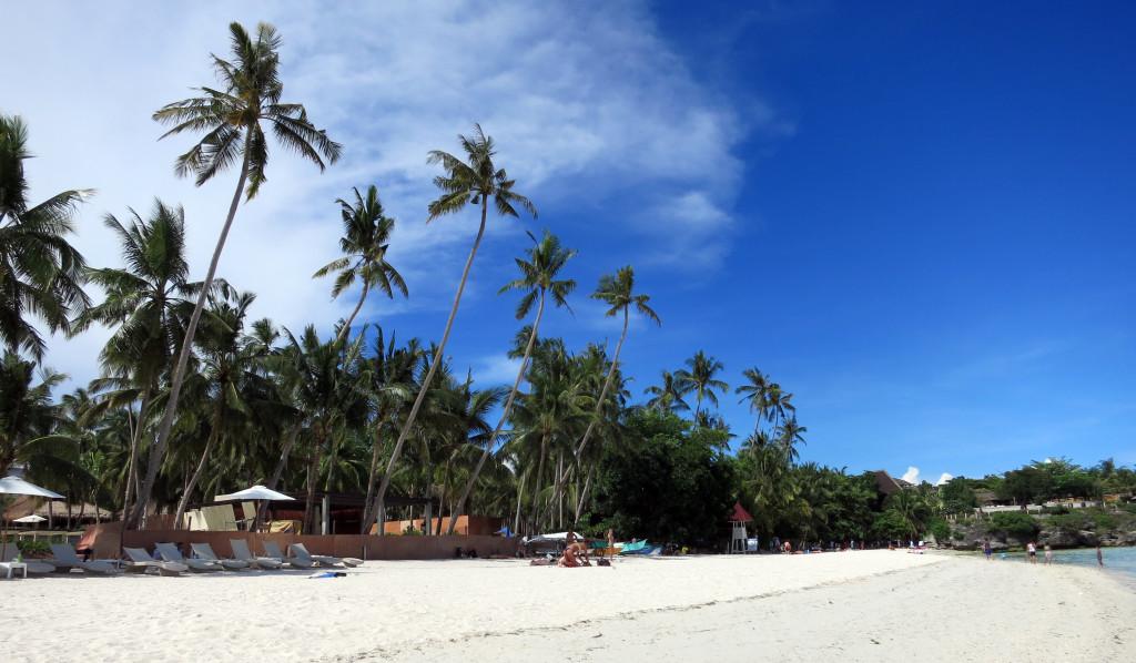 Filipíny - Bohol - snová pláž Alona