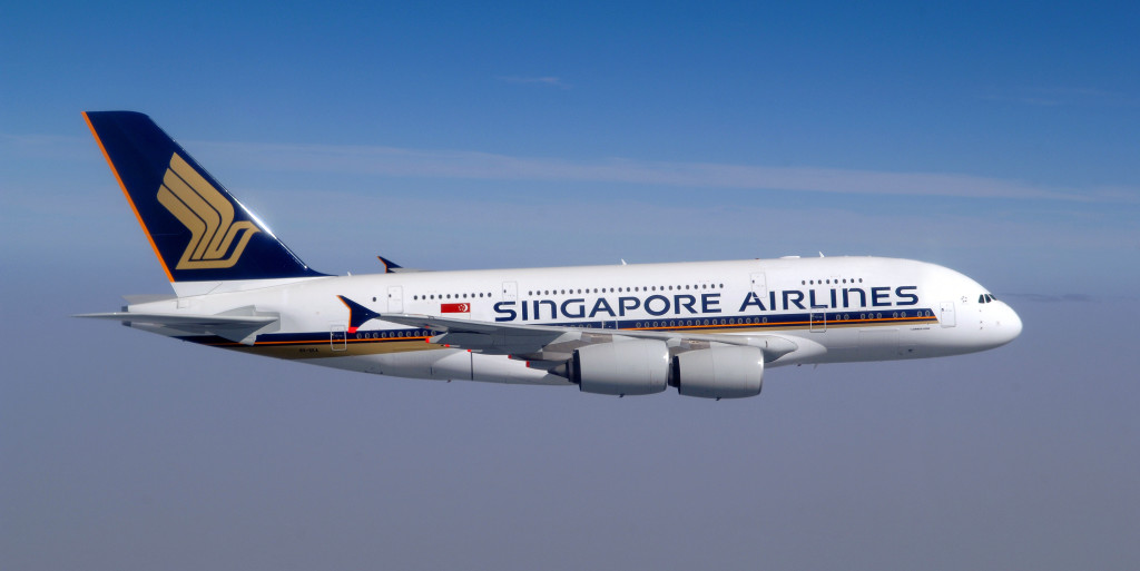 Singapore Airlines - A 380