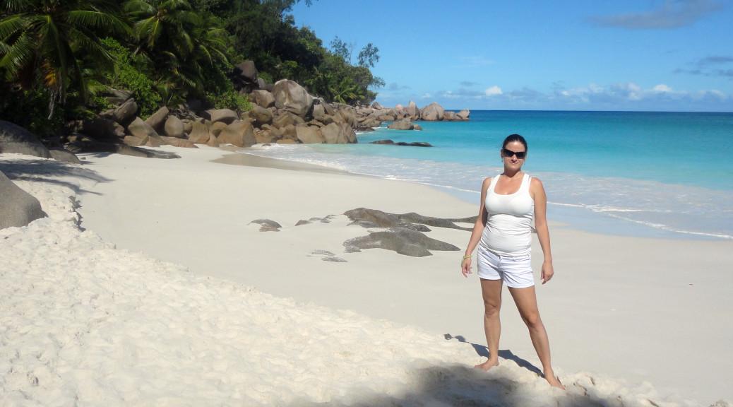 Seychelly - ostrov Praslin - Constance Lemuria-pláž