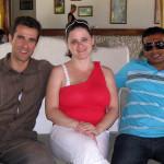 Maledivy-Martina a naši partneři na Maledivách
