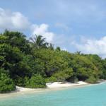Maledivy-Royal-Island-pláž