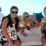 Maledivy-uvítací přípitek