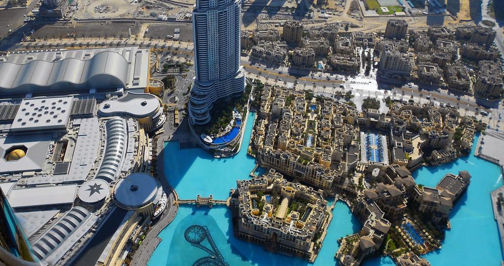 Emiráty-Dubaj-Burj-Khalifa-výhled