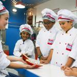 Emiráty-Dubaj-KidZania-výroba-čokolády