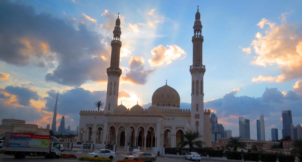 Emiráty-Dubaj-Mešita