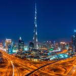 Emiráty-Dubaj-v-noci