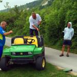 Golf-Bulharsko-Thracian-Cliffs-správný-golfista-nedropuje
