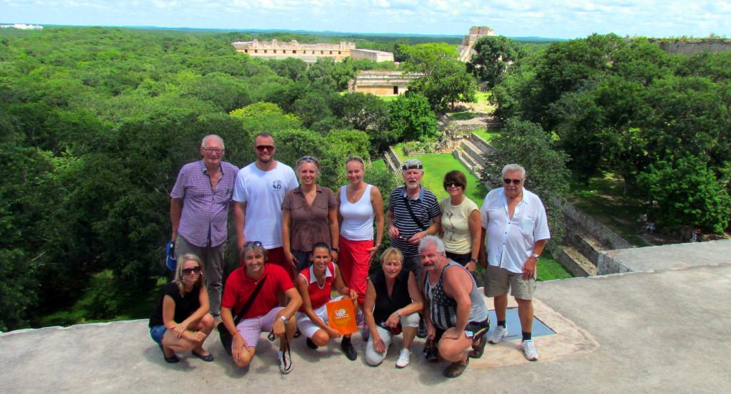 Mexiko-Calakmul-na-vrcholu-pyramidy