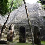 Mexiko-Calakmul-stély