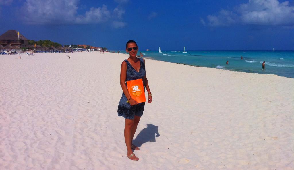 Mexiko-Playa-del Carmen-pláž