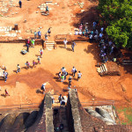 Srí-Lanka-Sigiriyia-pohled-dolů