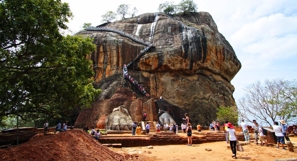 Srí-Lanka-Sigiriyia