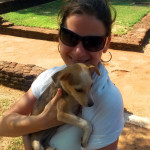 Srí-Lanka-Sigiryia-místní-psík