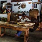Srí-Lanka-dřevořezbářská-manufaktura