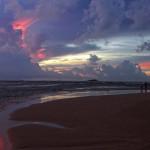 Srí-Lanka-západ-slunce