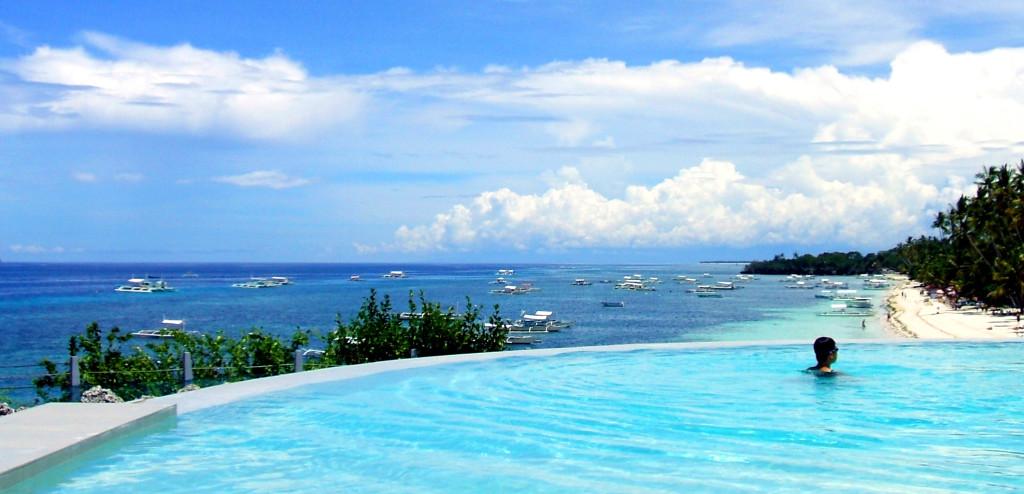 Filipíny-Bohol-Amorita - bazén