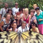 Filipíny-Bohol-motýlí-farma