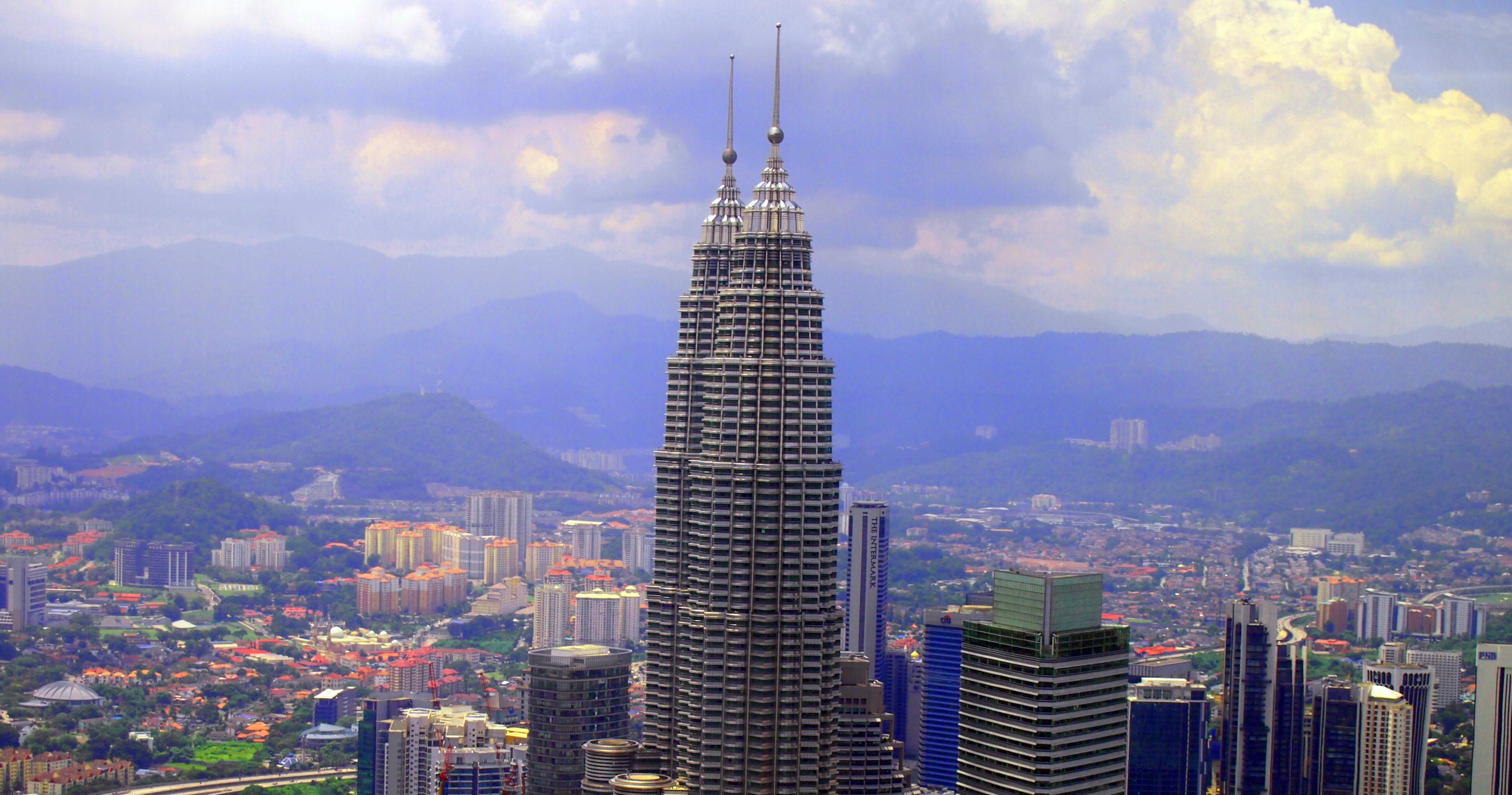 Malajsie-Kuala-Lumpur-vyhlídka