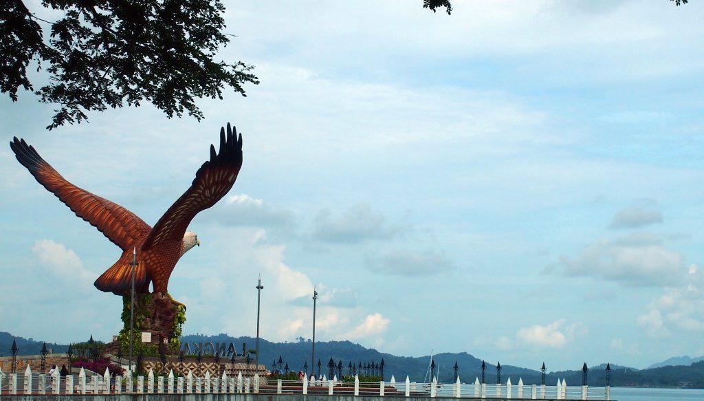 Malajsie-ostrov-Langkawi-bájny-pták-Garuda