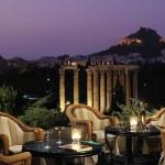 Eurovíkendy-Athény-hotel-Royal-Olympic-terasa