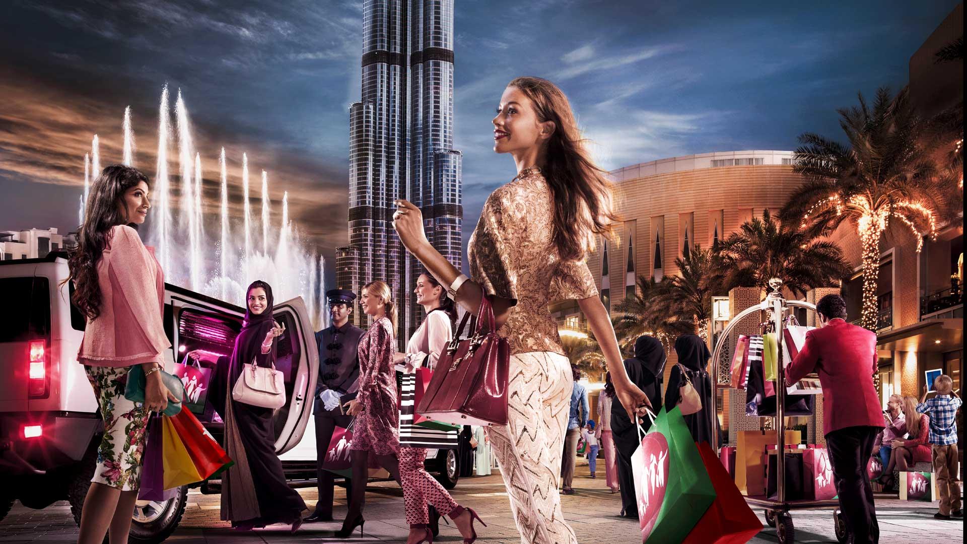 Eurovíkendy-Dubaj-shopping-festival