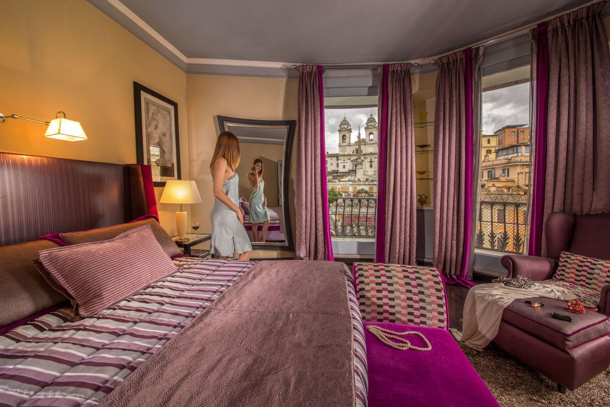 Eurovíkendy-Řím-hotel-The-Inn-at-the-Spanish-Steps