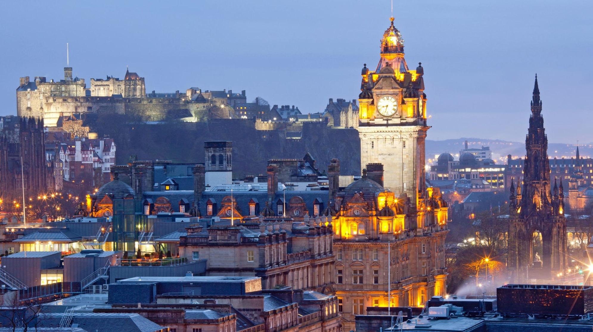 Eurovíkendy-Edinburgh