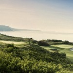 Golf-Bulharsko-Thracian-Cliffs-panorama-z-Hill-Side