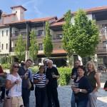 Golf-Bulharsko-Thracian-Cliffs-přivítací-přípitek