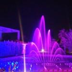 Golf-Turecko-Belek-hotel-Sirene-zpívající-fontána