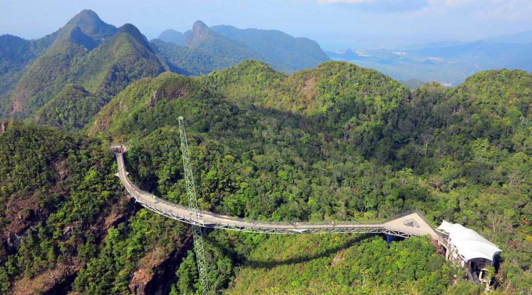 Malajsie-ostrov-Langkawi-most-Sky-Bridge