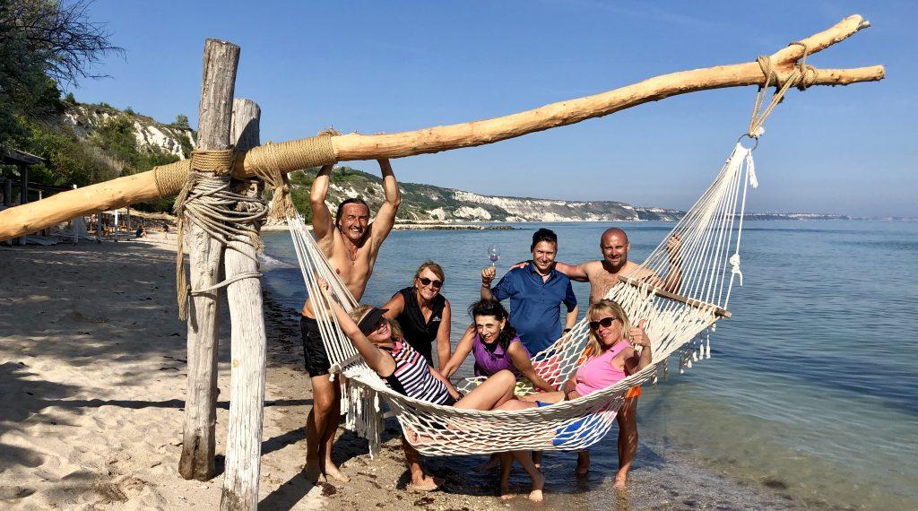 Golf-Bulharsko-hotel-Thracian-Cliffs-pláž