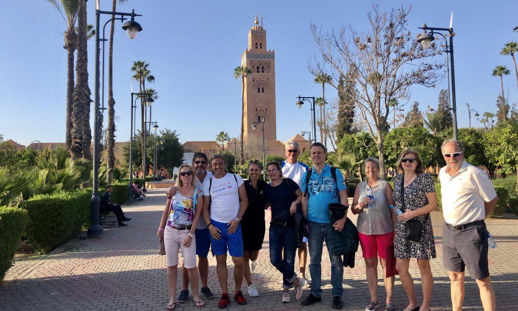 Golf-Maroko-Marrakéš-prohlídka-města