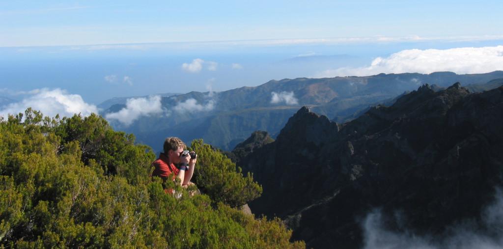 Madeira - na vrcholu Pico Ruivo