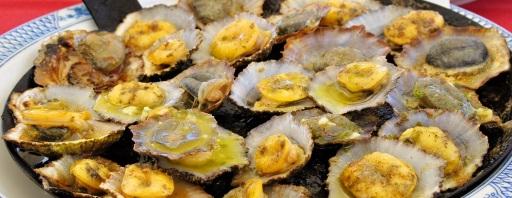 Madeira - typické mušle Lapas