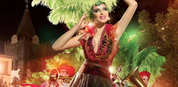 Madeira - karneval ve Funchalu