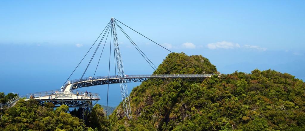 Malajsie - ostrov Langkawi - nebeský most
