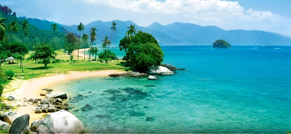 Malajsie - ostrov Tioman