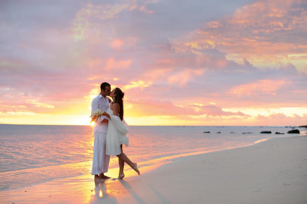 Mauricius - svatba na pláži