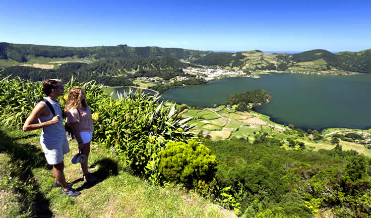Azory - ostrov Sao Miguel - Sete Cidades
