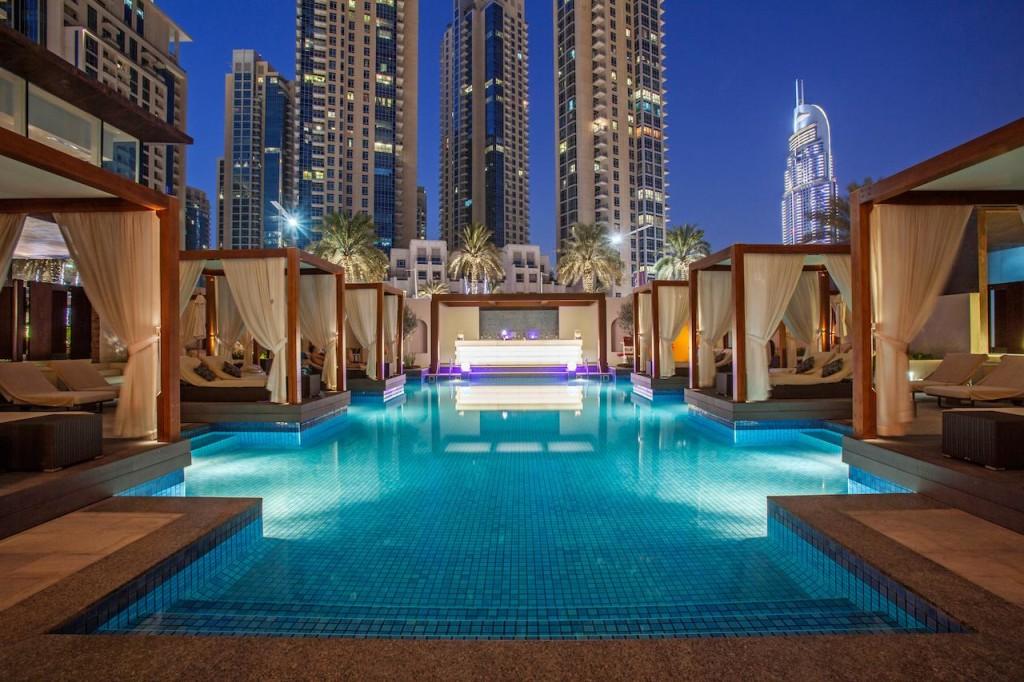 Dubaj - hotel Vida Downtown