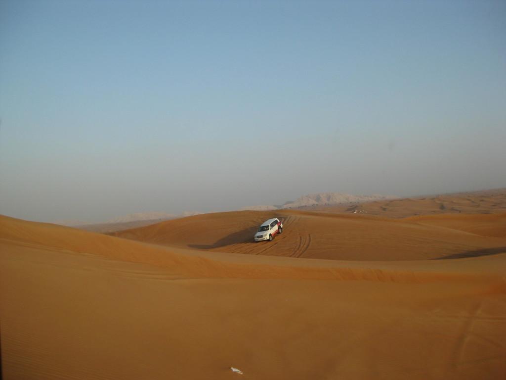 Dubaj - výlet jeep safari